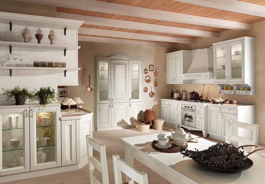 Cucine prezzi di fabbrica industrie arredamenti - Mobili cucina country ...